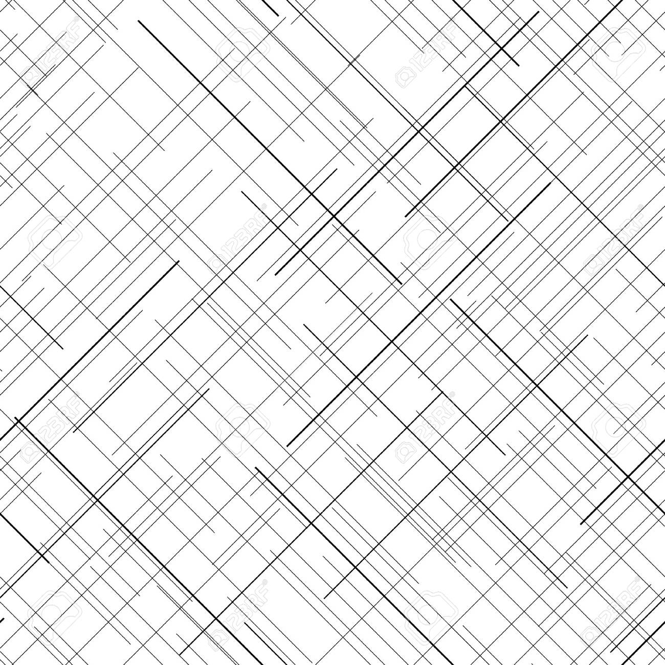1300x1300 Black And White Abstract Backdrop. Plaid Fabric Texture. Random
