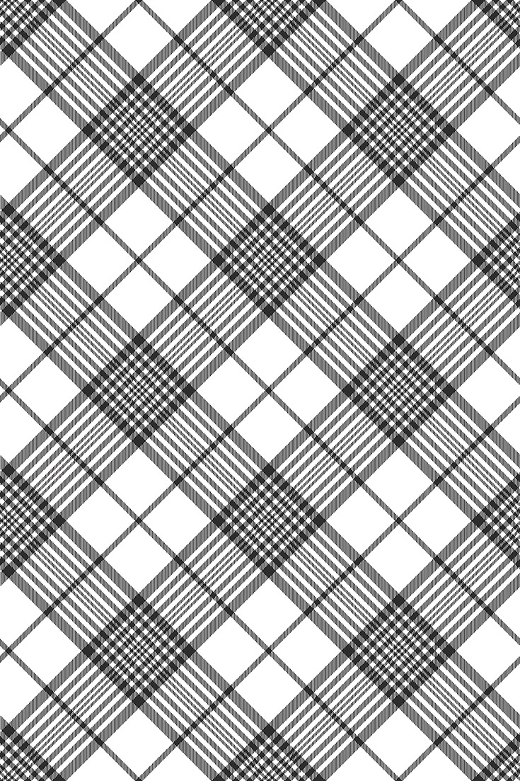 735x1103 Black And White Vector Patterns Texture. Tartan Plaid Wallpaper