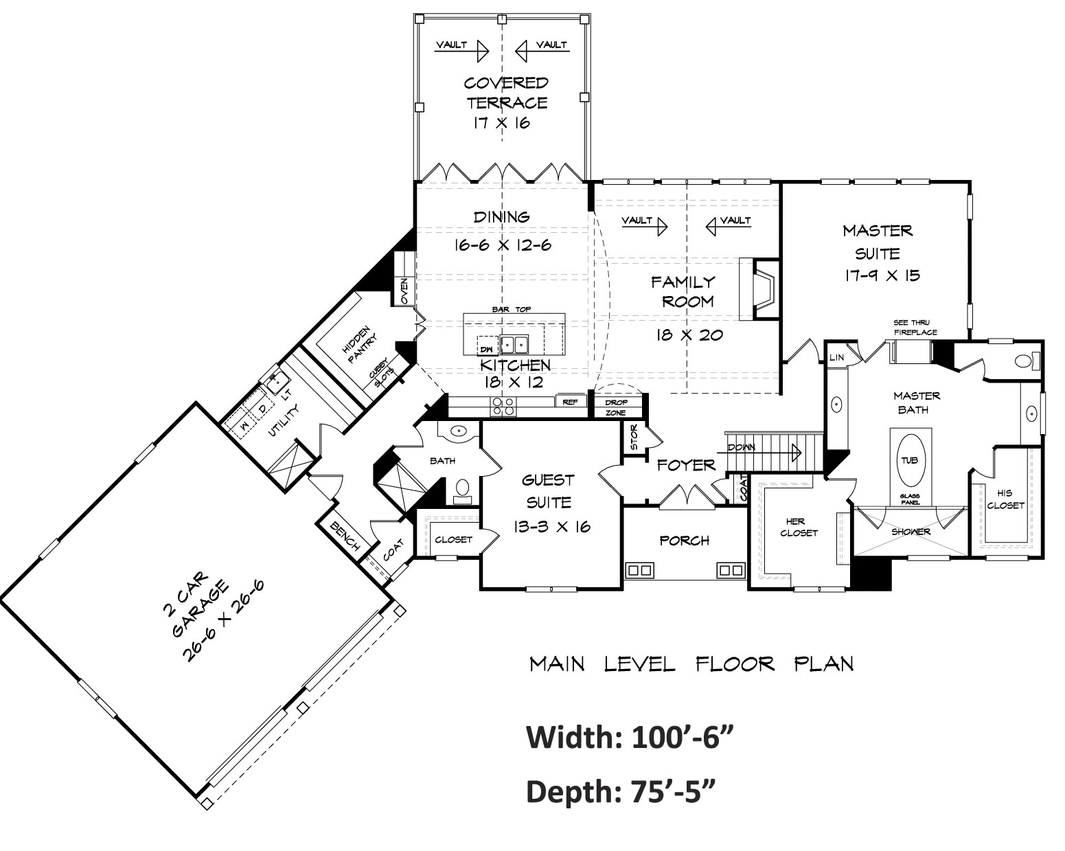 1551x1239 Bentwater House Plan Blueprints Architecural Drawings Home