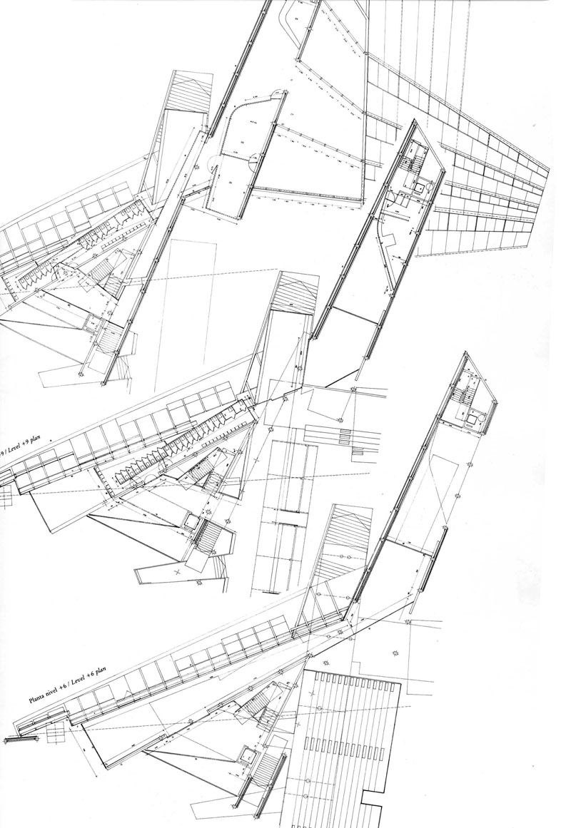 800x1161 Maps The Architectural Plan As A Map. Drawings By Enric