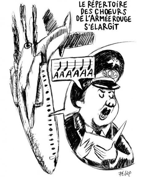 460x575 Tu 154 Crash Charlie Hebdo Publishes Caricatures Of Russian Tu