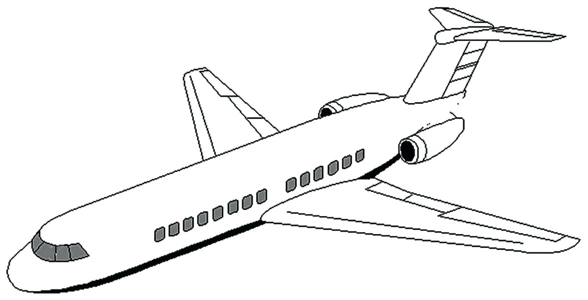 1173x600 Airplane Coloring Book Airplane Coloring Book And Perfect Airplane