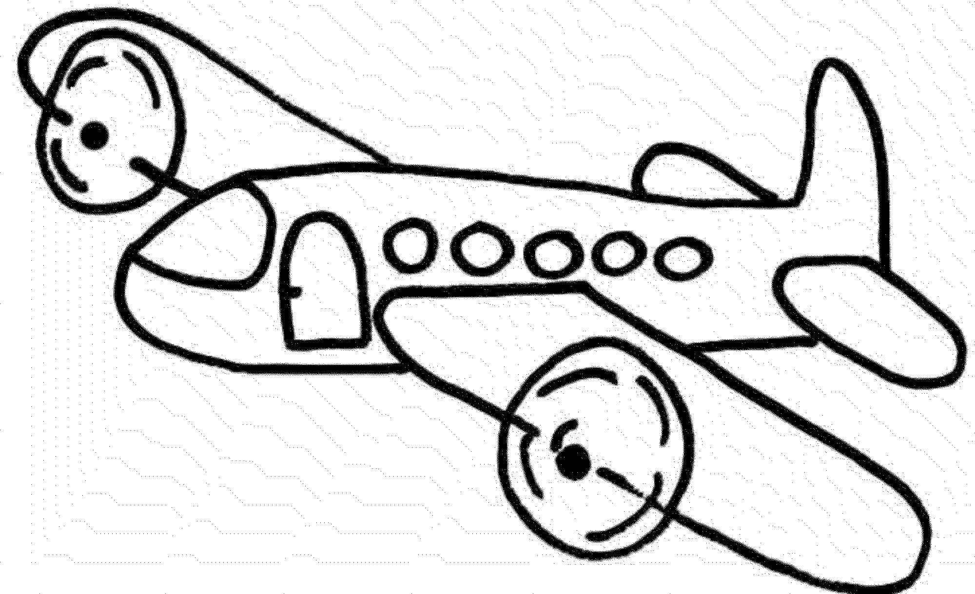 2000x1219 Air Transport Plane Coloring Pages For Kids