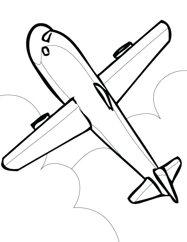 618x800 Airplane Coloring Pages Airplanes Coloring Pages Easy Airplane