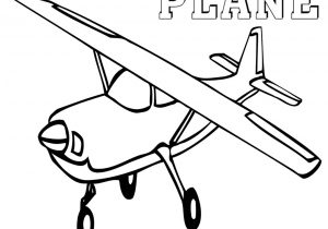300x210 Plane Cartoon Coloring Pages For Boys Printable