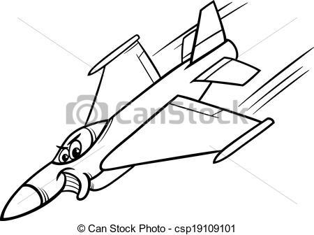 450x336 Plane Jet Plane Coloring Page Coloring Page Transportation