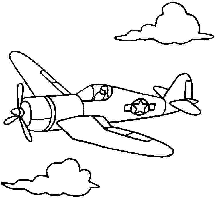 754x693 Airplane Drawings For Kids Many Interesting Cliparts