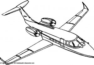 300x210 Jet Coloring Pages For Kids