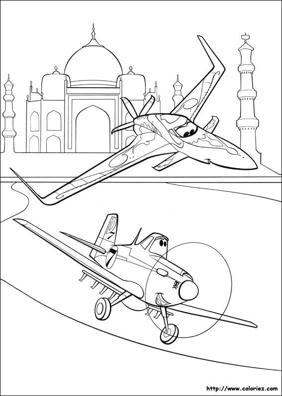 Charmant Coloriage Flugzeuge 2 Staubig Ideen - Ideen färben ...