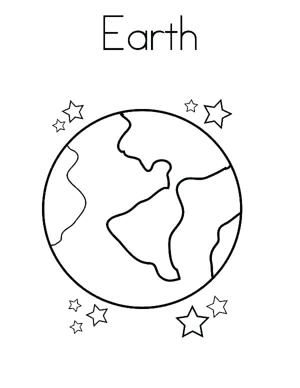 Planet Drawing For Kids at GetDrawings | Free download