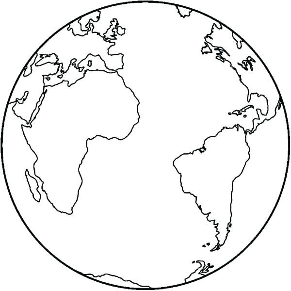 600x600 Coloring Page Of The Earth Coloring Page Of Earth Earth Day