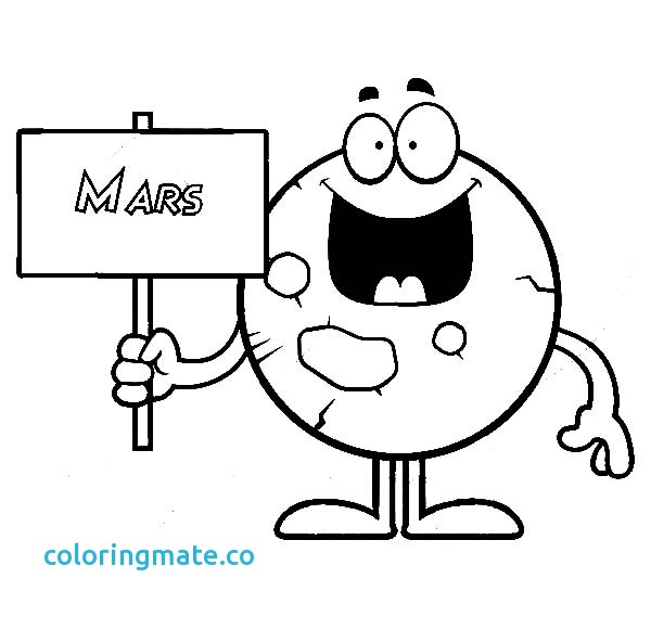600x569 Mars Coloring Pages Awesome Printable Template Of Planet Jupiter