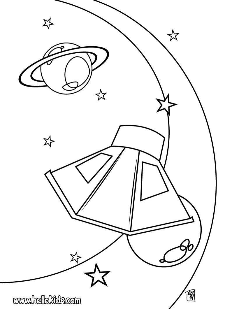 820x1060 Mars Coloring Pages