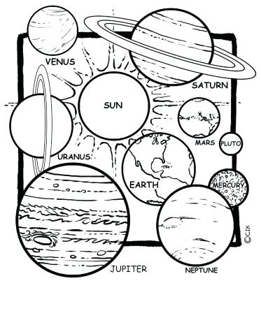 373x465 Planets Coloring Pages Planet Coloring Pages Individual Planets