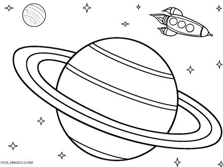 440x330 Planet Coloring Pages Planets Coloring Pages Planet Mercury