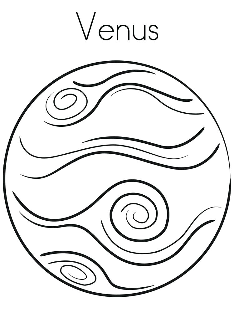 750x1000 Planet Coloring Pages For Preschoolers