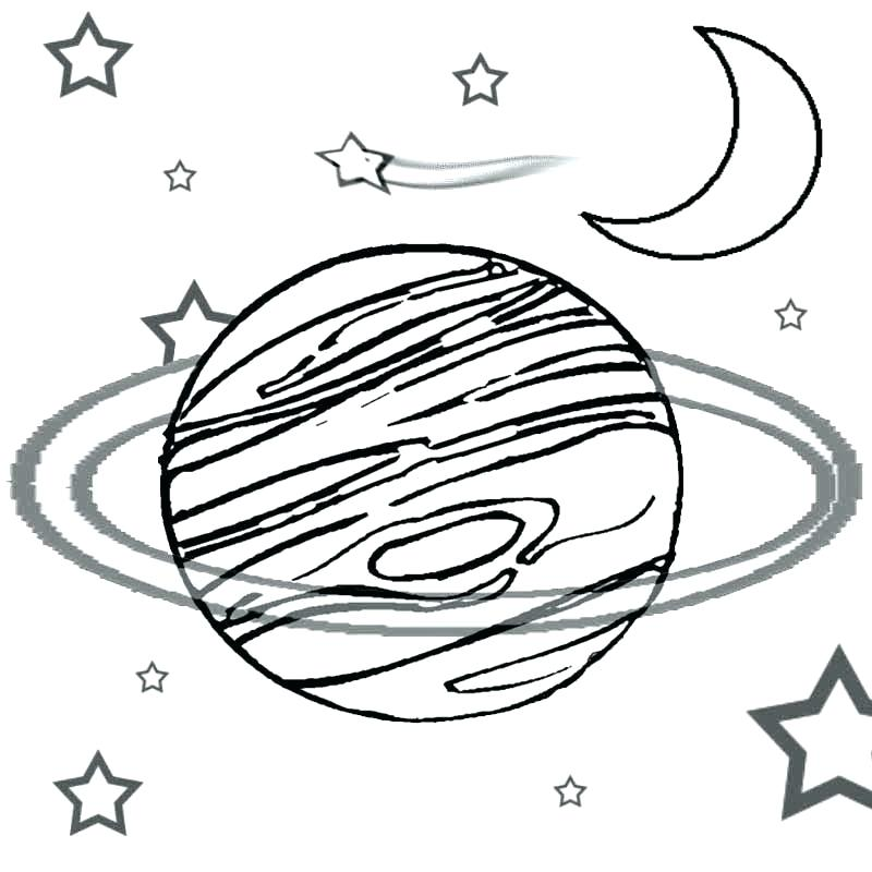 Planets Drawing