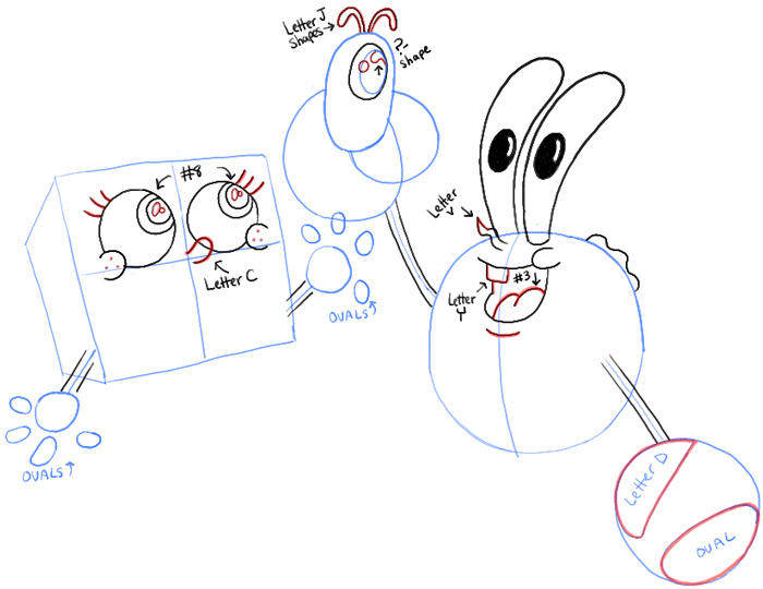 700x540 How To Draw Baby Spongebob, Mr. Krabs, And Plankton From Spongebob