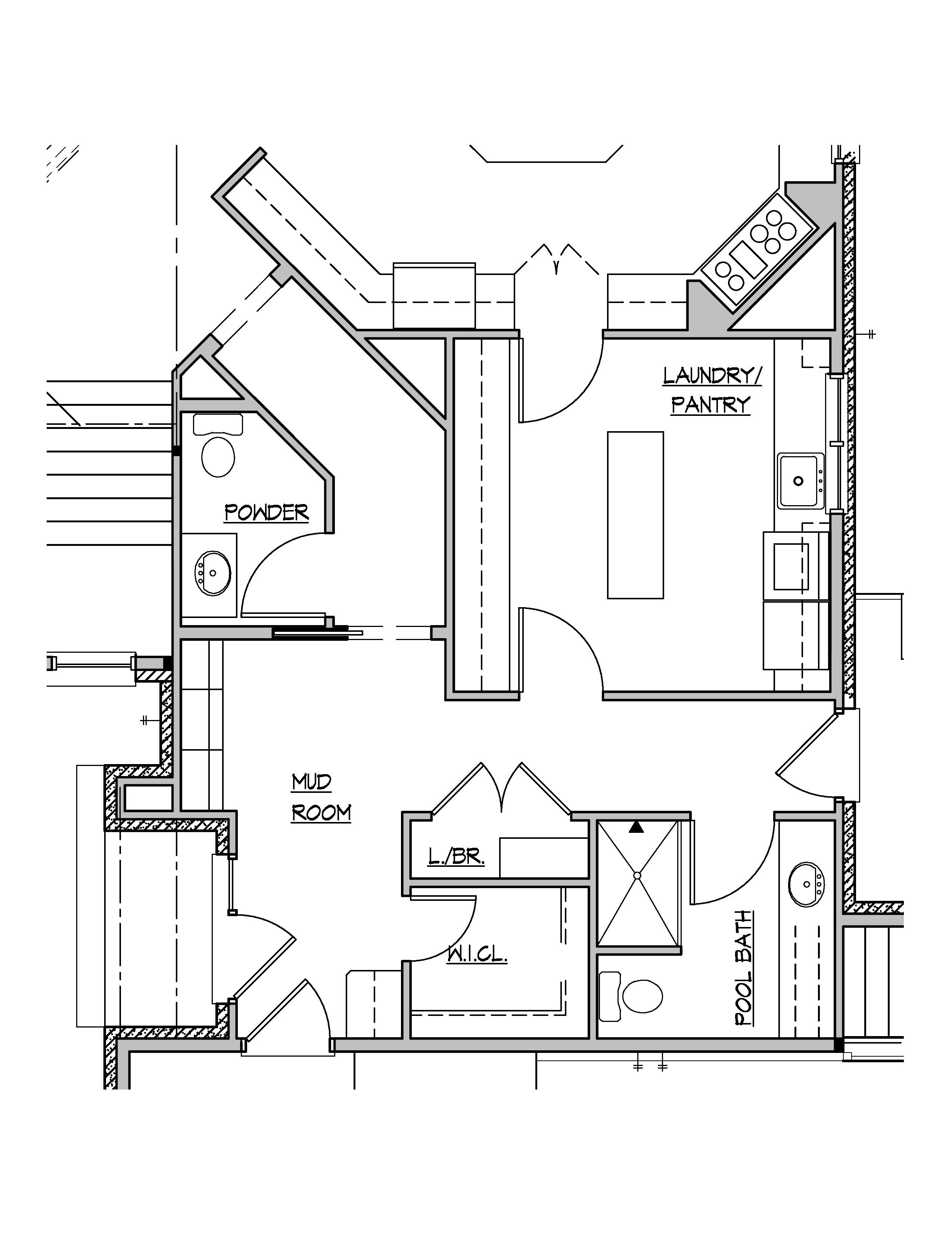 simple floor plan drawings