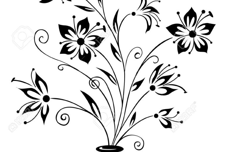 780x520 Easy Flower Pot Pencil Sketch Drawing Of Sketch, Pencil Pot Ideas