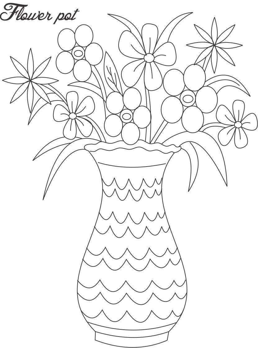 Plant Pot Drawing At Getdrawings Com Free For Personal Use Plant