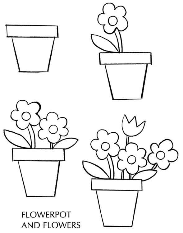 589x750 how to draw plants