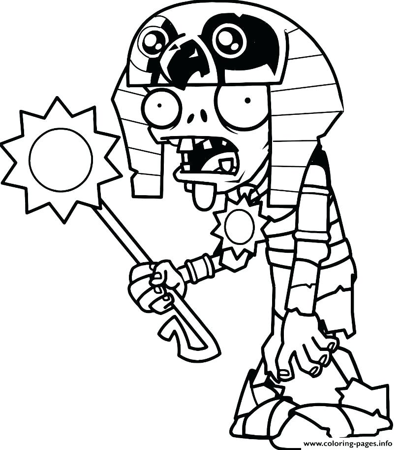 813x913 plants vs zombies coloring print plants vs zombies coloring pages