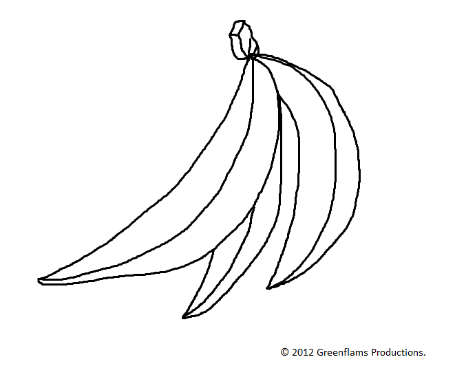 661x532 How To Draw A Bunch Of Bananas Step By Step How To Draw Faster