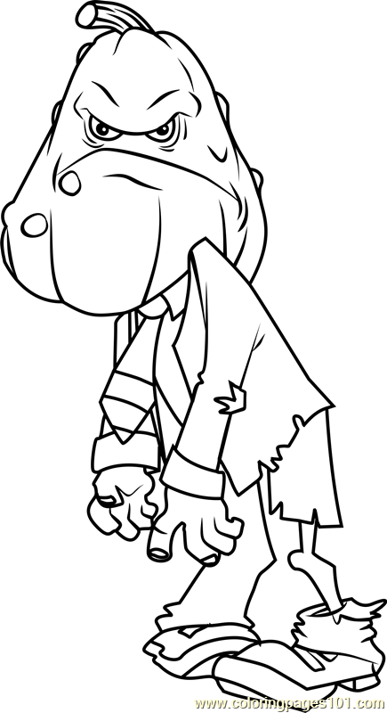 435x800 Plants Vs Zombies Coloring Pages 26 For Kids