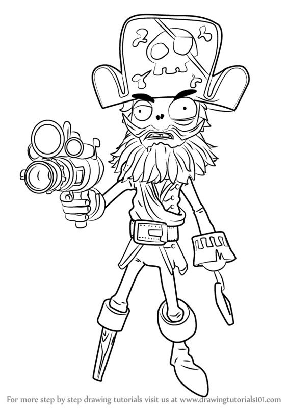 567x800 Plants Vs Zombies Garden Warfare Coloring Pages