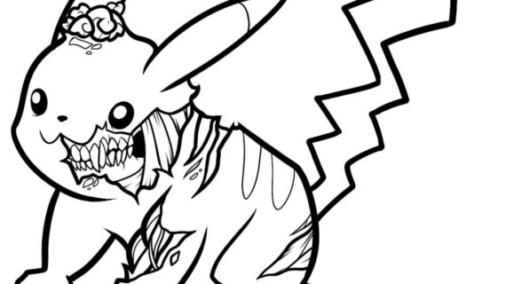 570x320 Easy Zombie Drawings How To Draw A Zombie From Plants Vs Zombies