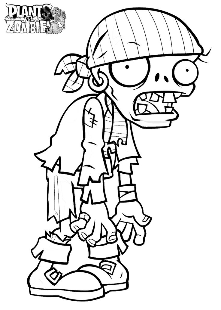 Ninja Zombie Coloring Pages coloring Free Printable Zombie Coloring ...