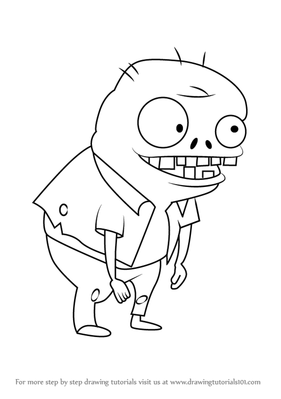 565x800 Learn How To Draw Imp From Plants Vs. Zombies (Plants Vs. Zombies