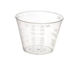 320x271 Medicine Cup Plastic 1oz Graduated 100pkg