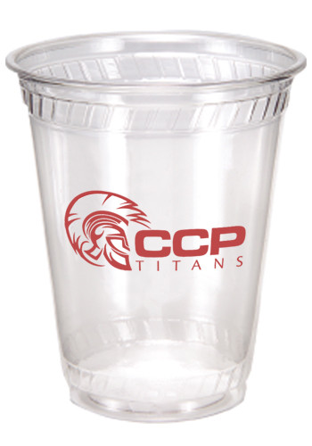 350x500 Printed Clear 7 Oz.plastic Cups Tstp7os