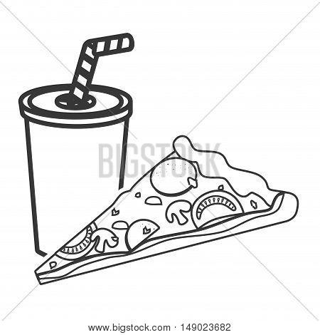 450x470 Soda Plastic Cup Straw Pizza Fast Vector Amp Photo Bigstock