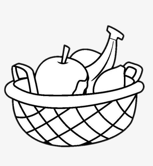 600x651 Draw Fruit., Hand Painted Fruit, Compote, Plate Png Image For Free
