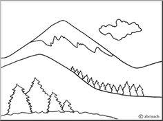 how to draw a plateau landform