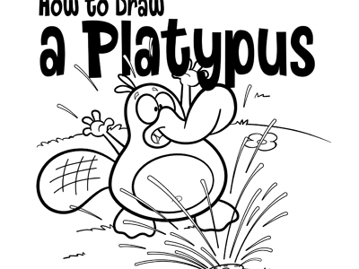 400x300 Step 6. Easy Pictures To Draw How To Draw Perry The Platypus Pet