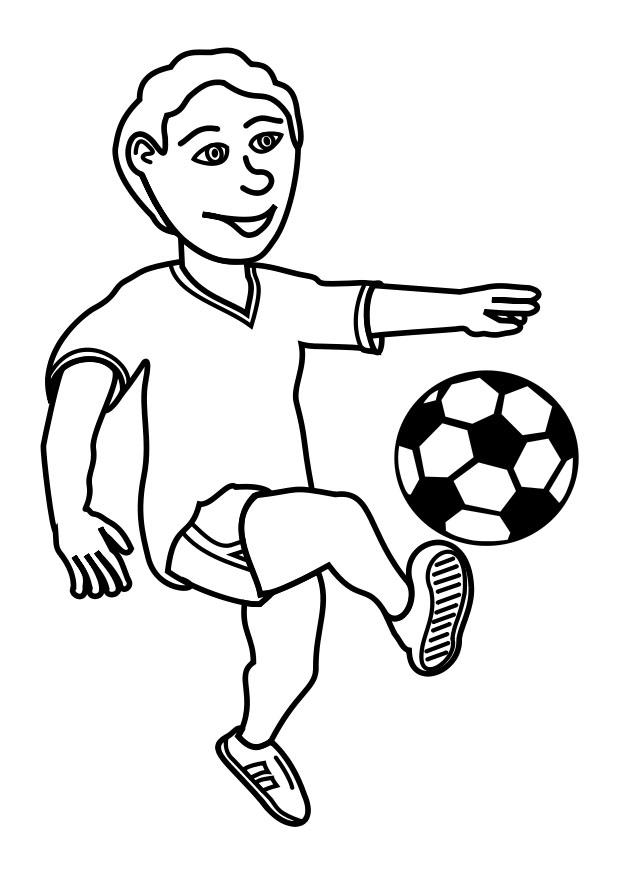 620x875 Coloring Page To Play Football