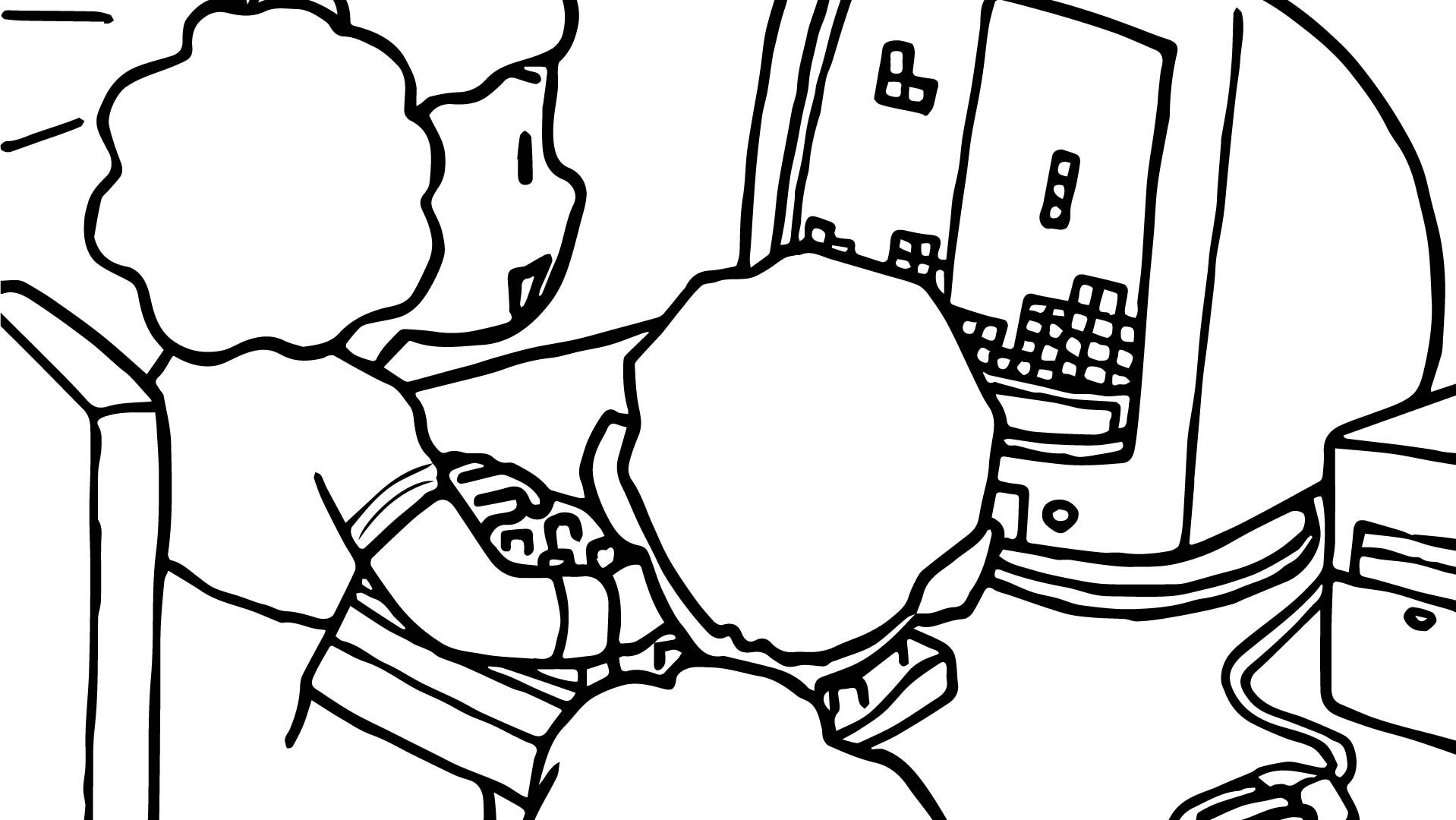 1918x1080 Sparrows And Computer Coloring Page Free Printable Pages For Kids
