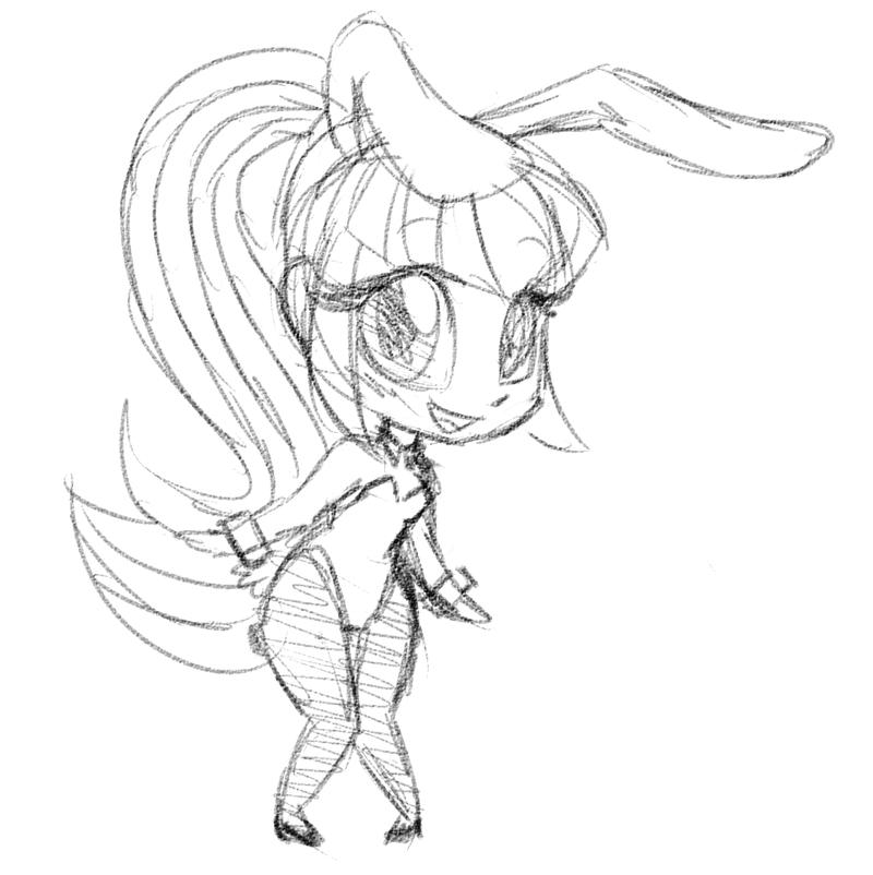 Playboy Bunny Drawing