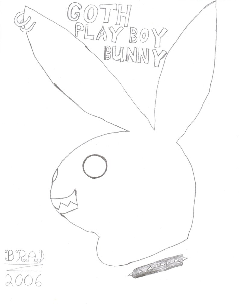 793x1008 Goth Playboy Bunny By Green Day Fan