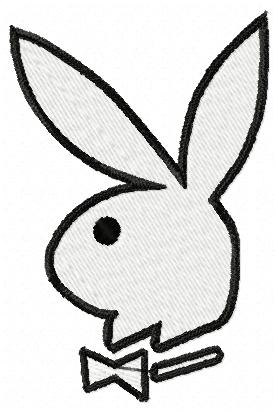 279x414 Playboy Bunny Logo Machine Embroidery Design (7 Designs) 2 Sizes