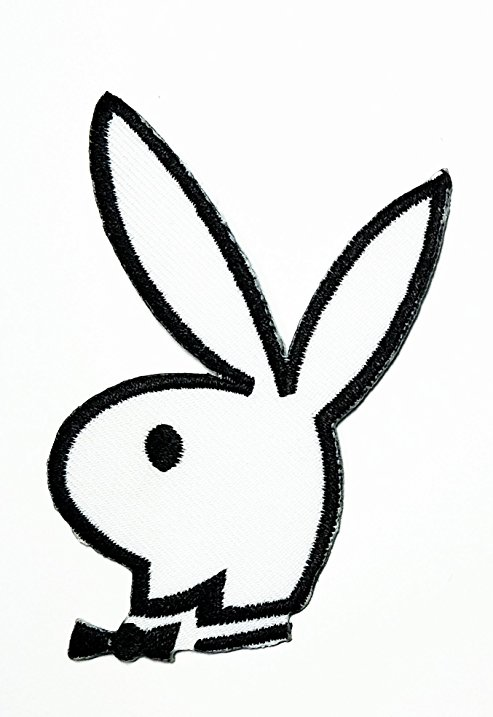 493x717 White Playboy Bunny Rabbit Cartoon Movie Patch Kid