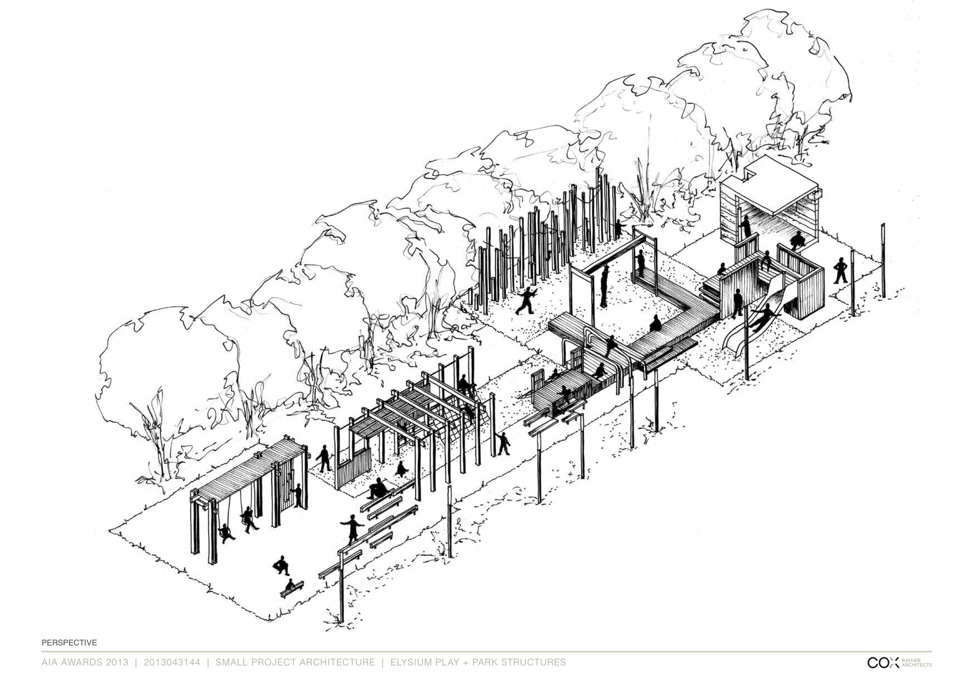 2000x1414 Gallery Of Elysium Playground Cox Rayner Architects