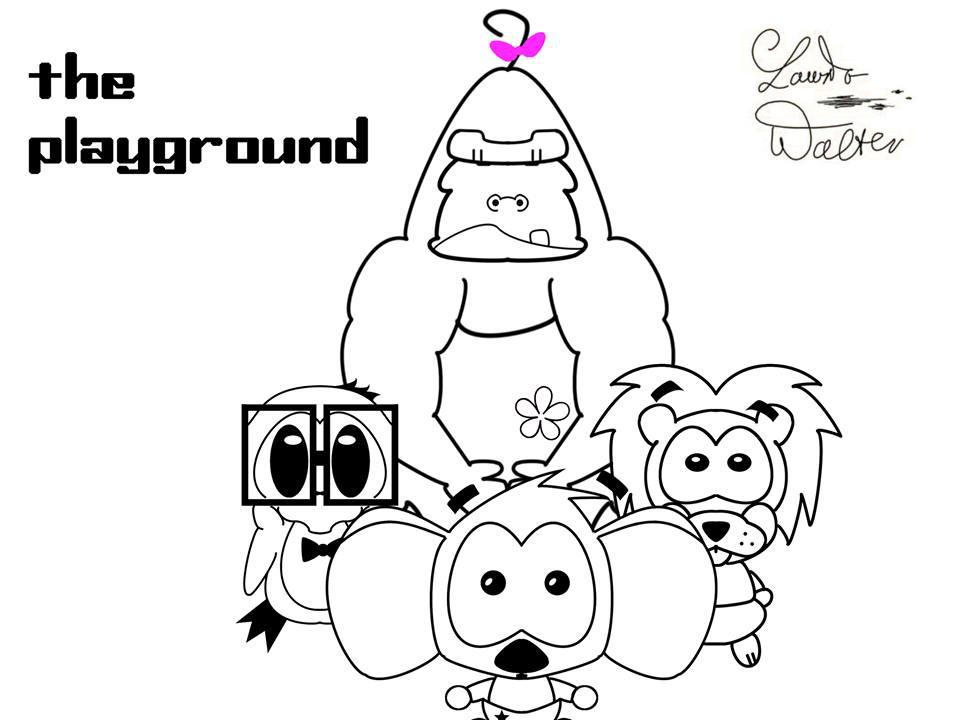 960x720 Walter Laurito Cinema4d The Playground 3d Animation Movie