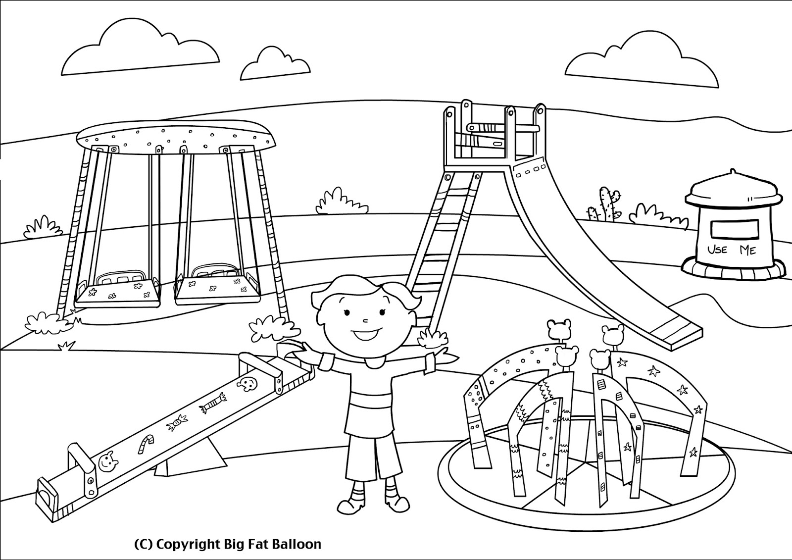 1600x1131 Kids On Playground Clipart Black And White 10 Clipart Station