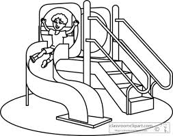 253x199 Playground Clipart Black And White