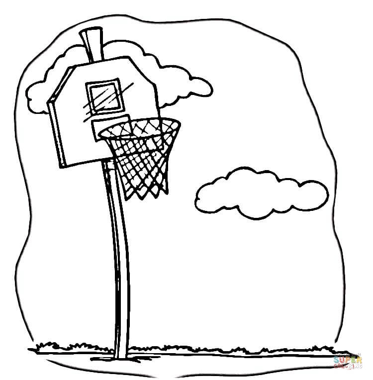 750x764 To Play Basketball Coloring Page Free Printable Coloring Pages